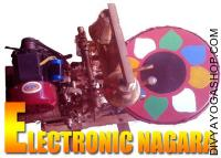 Electric nagada for temple