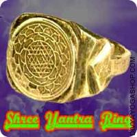 Shree yantra ring