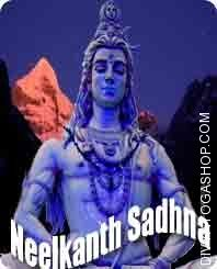 Neelkanth sadhana for obstacle