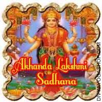 Akhanda Lakshmi Sadhana for prosperity