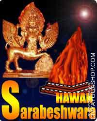 Sarabeshwara havan for spirit protection