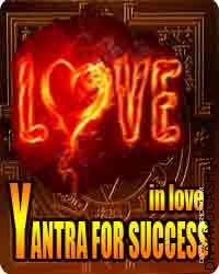 Yantra for success in love