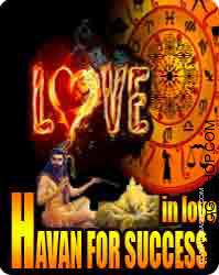 Havan for success in love