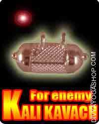 Kali kavach for enemy