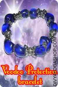 Bracelet for Voodoo protection