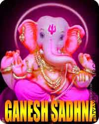 Ganesha sadhana for obstacles