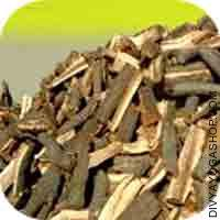 Almond tree wood for havan