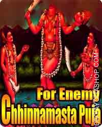 Chhinnamasta puja for enemy