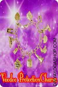 Bracelets Charms for Voodoo protection