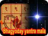 Bhagyoday yantra and rosary for Changing Luck