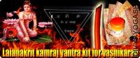 Lalanakrit kamraj yantra kit for strong vashikaran
