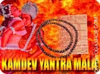 Kamdev yantra and rosary for attraction