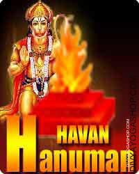 Shree hanuman havan