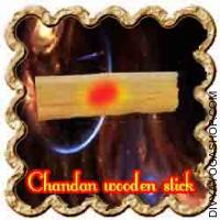 Chandan (sandal ) wooden Stick