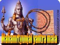 Mahamrtyunjai yantra mala for health