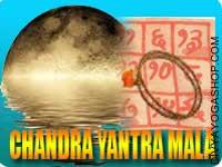 Chandra yantra mala for mental peace