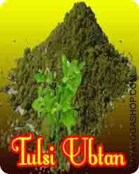 Tulsi Ubtan for health