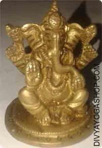 Sitting ganesha idol-80 gram