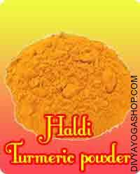 Haldi powder for puja