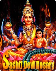 Sashthi devi rosary for child protrction