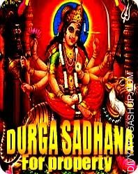 Durga sadhana for property