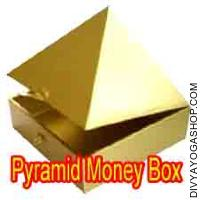 Pyramid money box