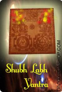 Shubh Labh copper Yantra