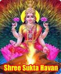Shree sukta paath havan
