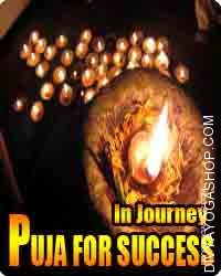Puja for success in travel