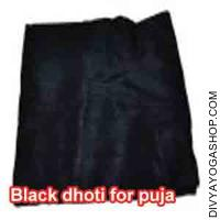 Black Dhoti for Puja