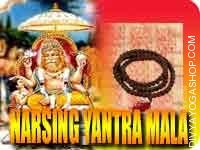 Narsing yantra mala for enemy