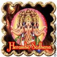 Heramb Ganesha Sadhana for success