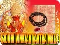 Siddhi vinayak yantra mala for success