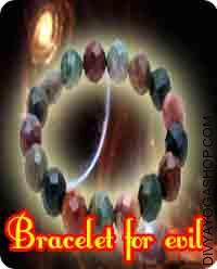 Bracelet for evil protection