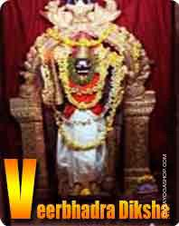 Veerbhadra diksha for protection