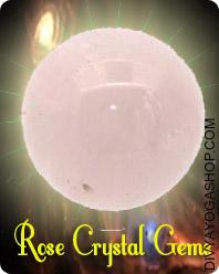 Rose Crystal Gemstone