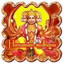 Hanuman Sadhana for manifestation