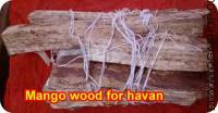 Mango wood for havan