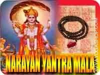 Narayan yantra mala for prosperity